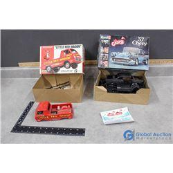 (2) Model Car Kits w/Original Boxes