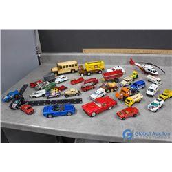 Misc Toy Cars - Buddy L. Majorette, Husky, Corgi