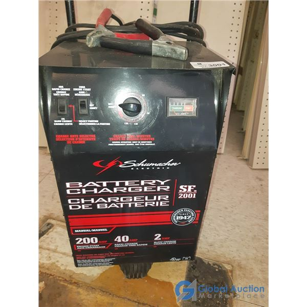 Used Shewmacher 200 amp Battery Charger