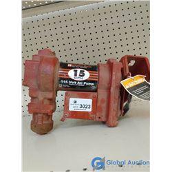 115V Fill Rite Fuel Transfer Pump