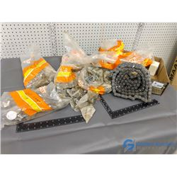 Box of Assorted Chain & Chain Links