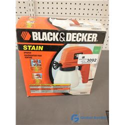 Black & Decker Corded Electric Stain/Paint Sprayer