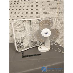(2) Used Portable Fans - Working Order