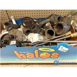 Assorted NOS PVC & ABS Plubming Fittings & Supplies