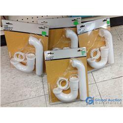 (4) NOS Sink P-Traps