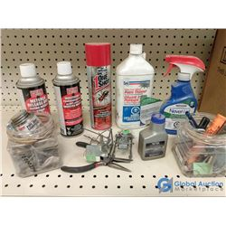 gopher traps insect spray and misc. items