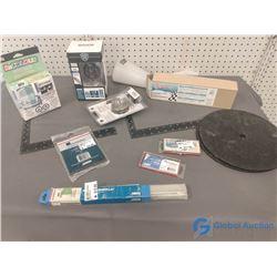 NOS Welding Rods, Deadbolt & Assorted Hardware