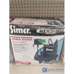NOS In Box 1/2 HP Sump Pump