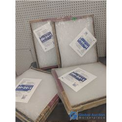 """(4) NOS Packs of 20"""" x 24"""" Furnace Filters"""