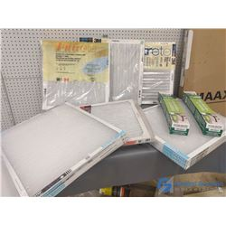 Assorted Sizes of NOS Furnace Filters