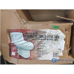 NOS One-Piece 4.8L Toilet