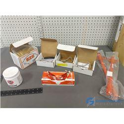 Assorted Unused Veterinary Supplies