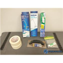 (2) Drinking Water Faucets & Misc. Items