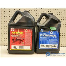 (2) 5L Injection Oil