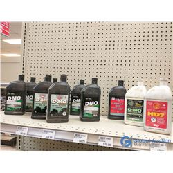 (11) 1L Bottles of Assorted Engine Oils