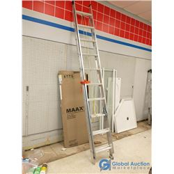 Unused 18' Aluminum Extension Ladder