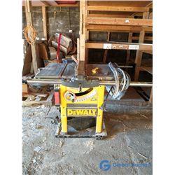 """DeWalt HD 10"""" 240V Table Saw"""