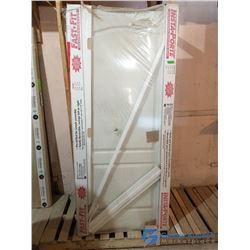 "Unused Interior Door w/ Frame - 36"" x 80"""