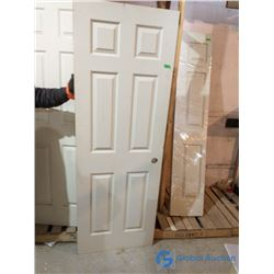 "Unused 28"" Interior Door - Cosmetic Damage"