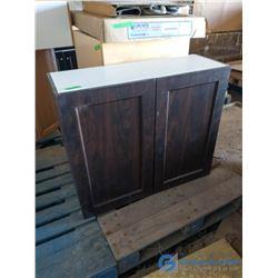 Dark Brown Kitchen Cabinet