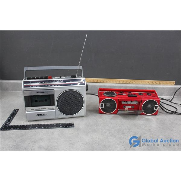 Sanyo and Candle (no sound) Electric Stereo
