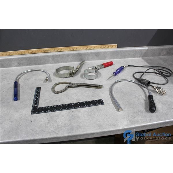 Misc Tools, Magnets, Light, Test Light, etc