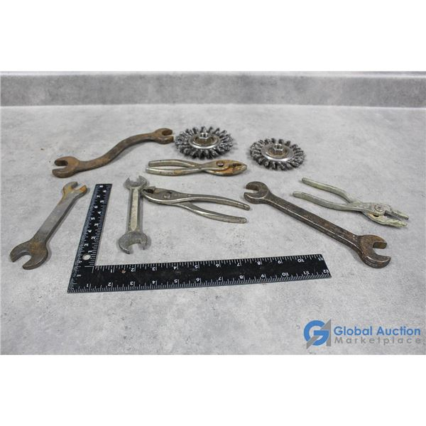 Wire Discs, Wrenches, Pliers