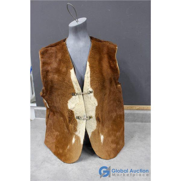 Cowhide Vest