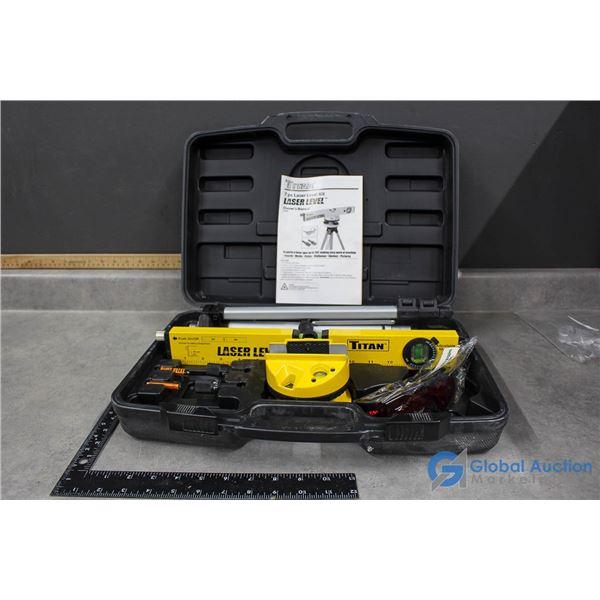 Titan 7pc Laser Level Kit in Case