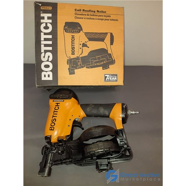Bostch Coil Air Roof Nailer