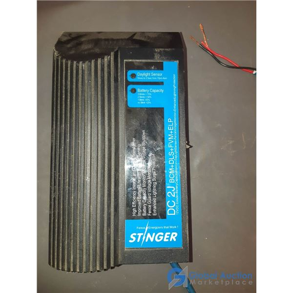Used Stinger 12V Fence Energizer