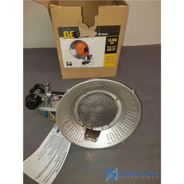 BE 16,000BTU Propane Infrared Heater w/Box