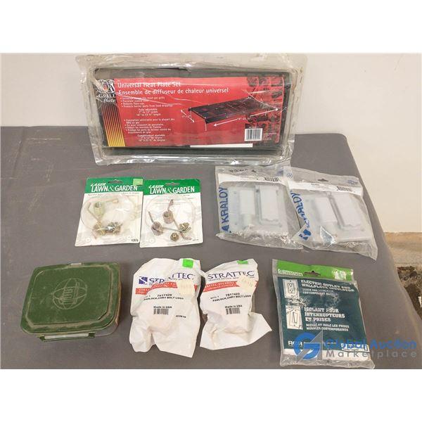 Unused Electrical; Unused Self Keying Pad Locks (Chrysler); Screws; etc