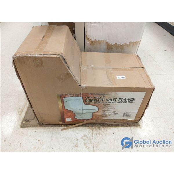 Unused 1 Piece 6L Toilet in a Box