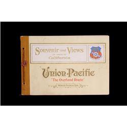 Souvenir & Picture Book Of Union Pacific Ca. Route
