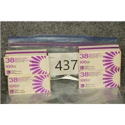 3 Boxes 38 Spl. 1 Box Bullets