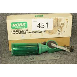 RCBS Powder Measure.