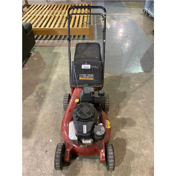 EXMARK COMMERCIAL 21 ADVANTAGE SERIES GAS LAWNMOWER