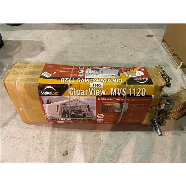 SHELTERLOGIC CLEARVIEW MVS1120 MAXIMUM VISIBILITY SHELTER