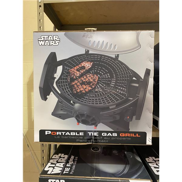 NEW IN BOX STAR WARS TIE FIGHTER PORTABLE GAS GRILL MODEL SW-2201