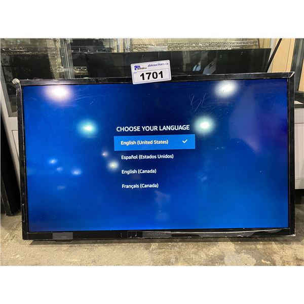 """INSIGNIA 32"""" FIRE TV MODEL NS-32DF310CA19 WITH REMOTE & CORD NO STAND"""