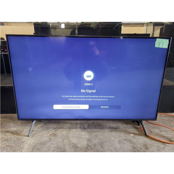 "SAMSUNG SMART TV 43"" MODEL UN43TU7000F WITH REMOTE CORD AND STAND"