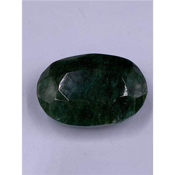 ROUGH MINERAL POLISHED QUALITY EMERALD 282.25CT - 56.45G, 49 X 33 X 22MM, BRAZIL