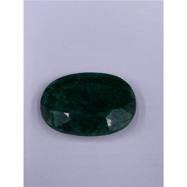 ROUGH MINERAL POLISHED QUALITY EMERALD 157.80CT - 34.56G, 47 X 33 X 12MM, BRAZIL