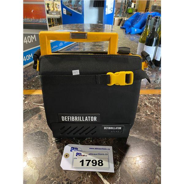 MEDTRONIC PHYSIO-CONTROL LIFEPAK 500 BIPHASIC AUTOMATED EXTERNAL DEFIBRILLATOR