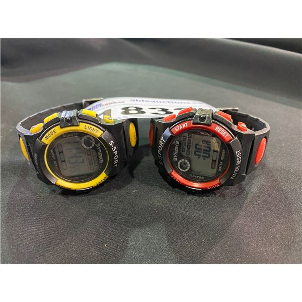 2 SYNOKE S-SPORT WATCHES