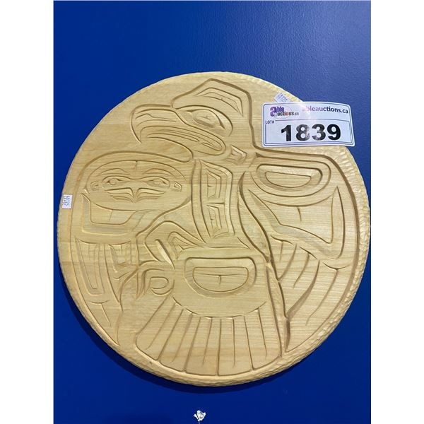 FIRST NATIONS HAND CARVED WOODEN ART