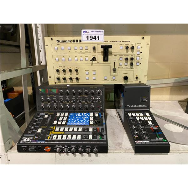 SHAMI CORPORATION U-MATIC VHS BETA 8MM VIDEO PROGRAM ASSEMBLY EDITOR/SWITCHER/SPECIAL EFFECTS &