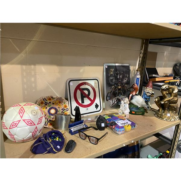 ASSORTED HOME DECOR & COLLECTIBLES
