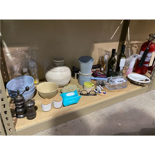 ASSORTED HOME DECOR, DISHWARE, BATHROOM PRODUCTS, & MORE